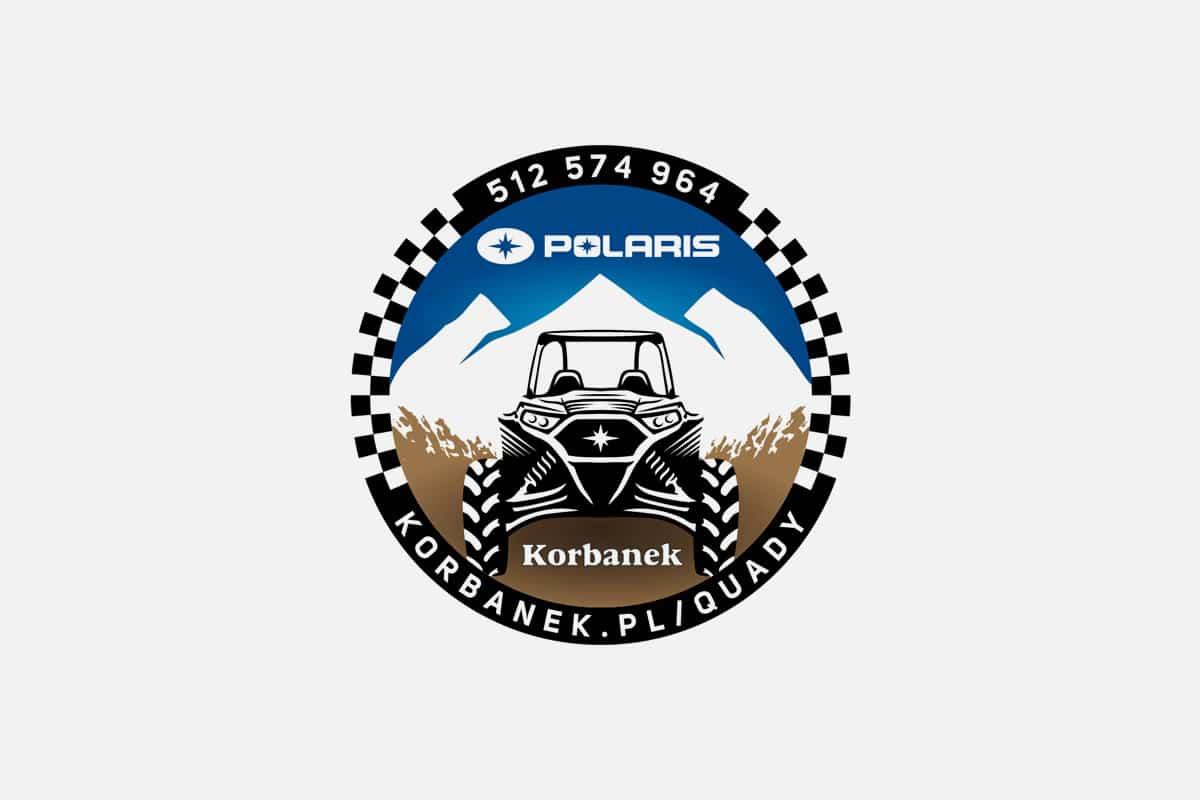 Logo / wlepka dla Polaris i Korbanek